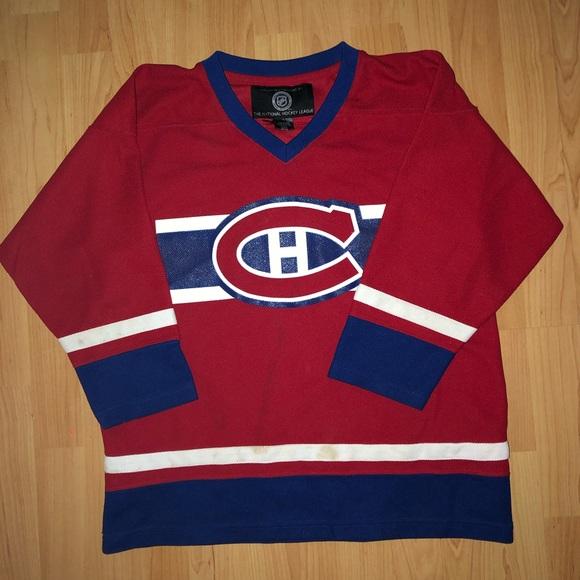 Montreal Canadians hockey jersey
